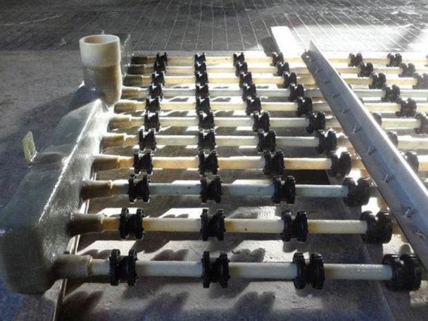 Tubazioni PRFV per griglie di areazione –  Total Laggan Tormore Project – Isole Shetland  (GB) -2013
